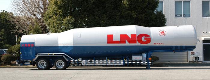購入する 15.1ton積LNGタンクセミトレーラ