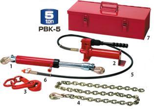 油圧引きラムレスキューセット PBK-5