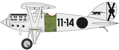 購入する イスパノ ニューポール Ni-D52 複葉戦闘機 フランコ軍スペイン内戦