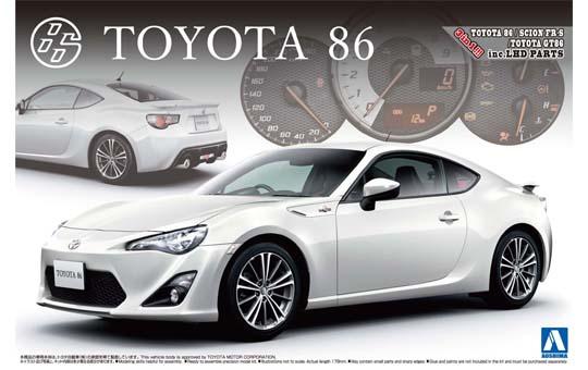 購入する Toyota 86 '12 プラモデル