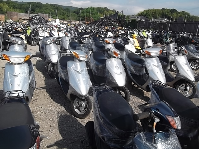 購入する Used scooters and motorcycle exports from Japan