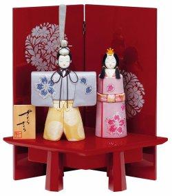 購入する 【雛人形、ひな人形】一秀作 さくらさくら 神雛 スワロフスキー C-150