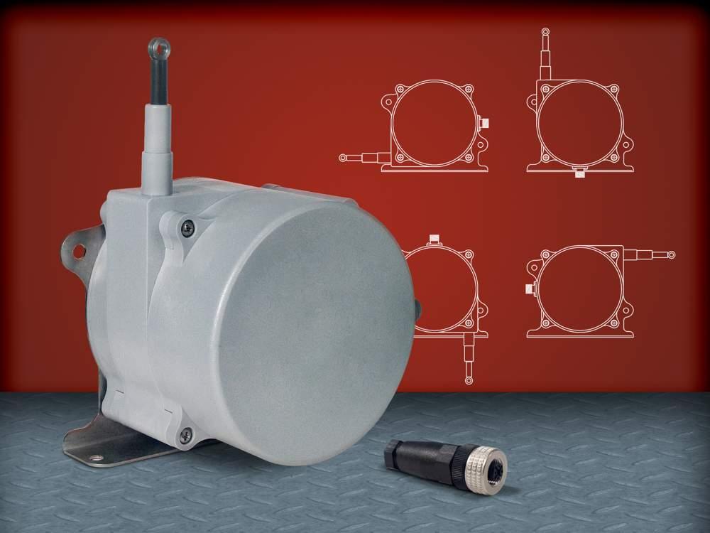 購入する Celesco社製ワイヤ伸長式ポジションセンサSRシリーズ