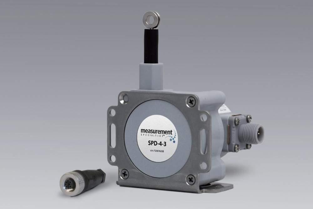 購入する Celesco社製ワイヤ式変位センサSPD