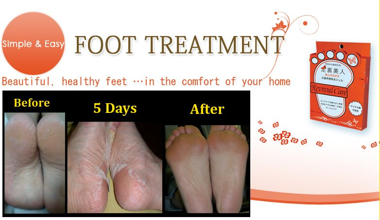 Japanese Skin/Body Care Cosmetic Product For Feet