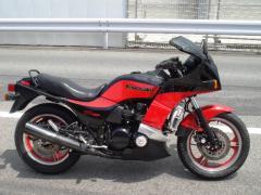 オートバイク KAWASAKI Z750TURBO