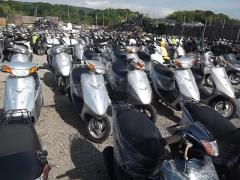 Used scooters and motorcycle exports from Japan
