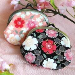 コラゾン 桜のがま口小銭ケース