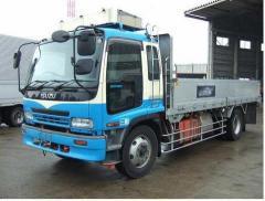 Suzu Model Forward ( 8 ton Mid Size FlatBed Truck )