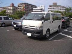 Toyota Model Hiace van ( 5 Door Commercial Cargo Van )