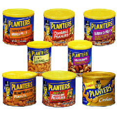 プランター・缶入りナッツ