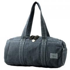 PORTER / PORTER BLUESTRIPES garment dye KURA CHIKA ORIGINAL BOSTON BAG