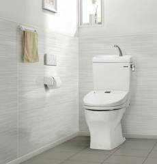ホワイト トイレパネル: ウッドホワイト