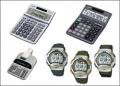 Watches, Clocks, Calculators