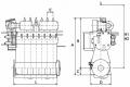 船のエンジン S35MC6 TierI