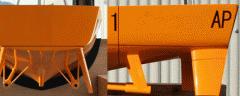 実験用船体模型