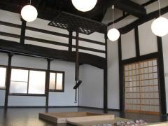 Tea house Japanese culture, the tatami.